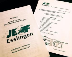 Satzung der JEF Esslingen