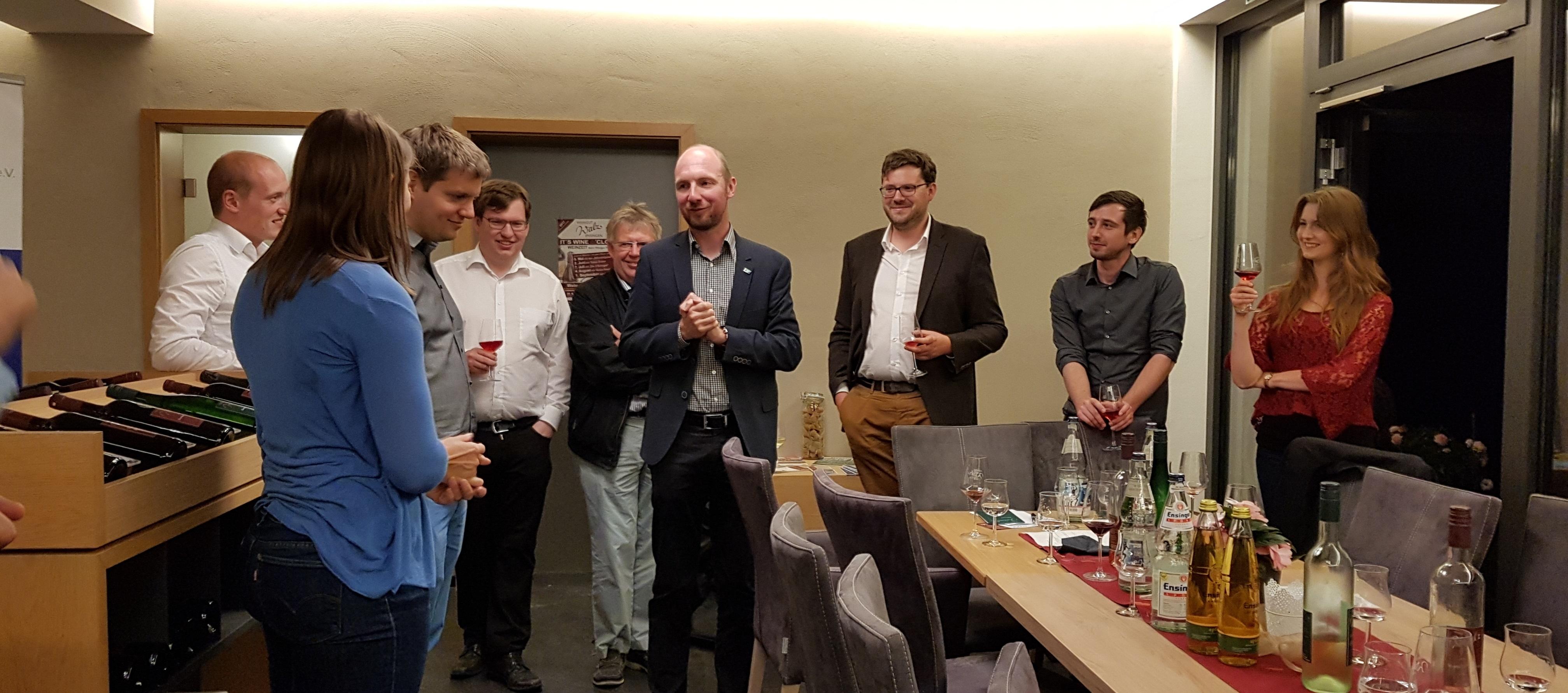 Mitgliederversammlung 2017 im Weingut Walz