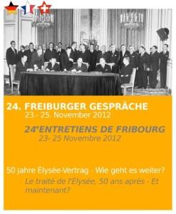Freiburger Gespräche 2012