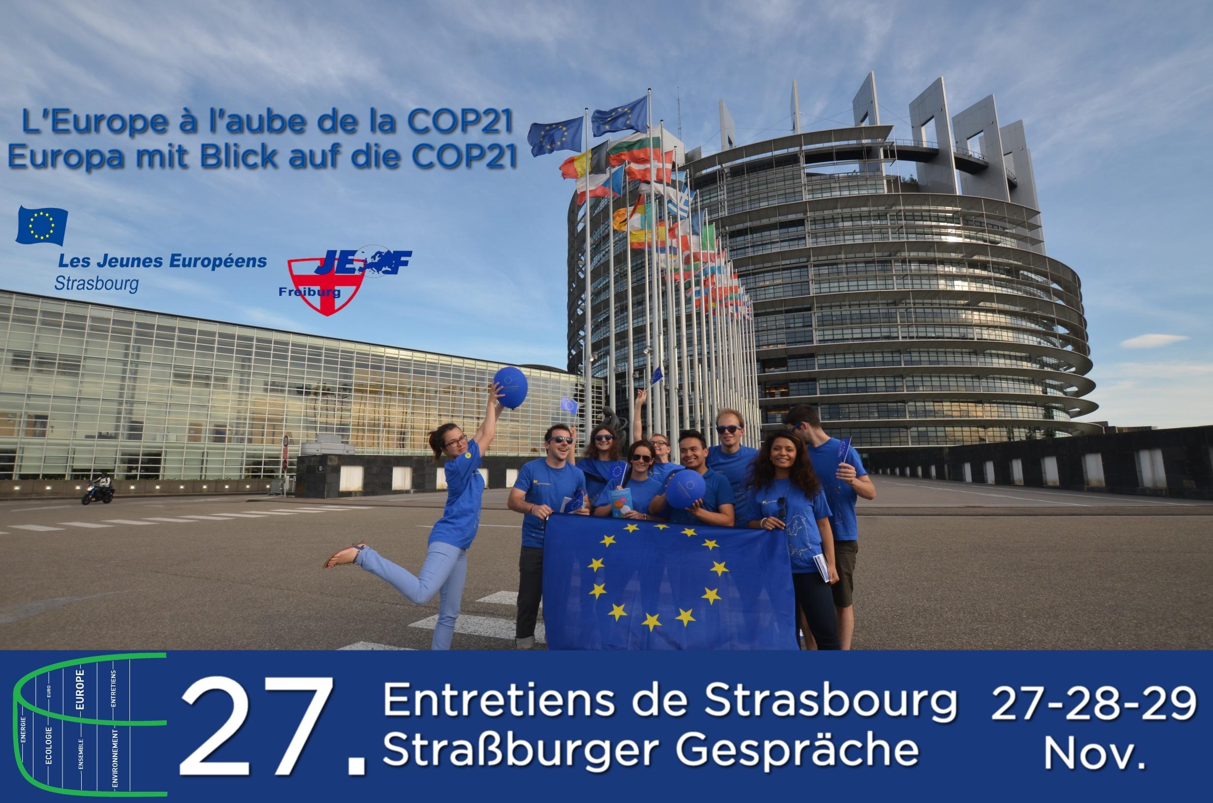 Anmeldung für die Straßburger Gespräche