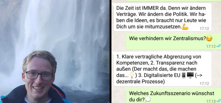 Interview mit Gerrit von Zedlitz