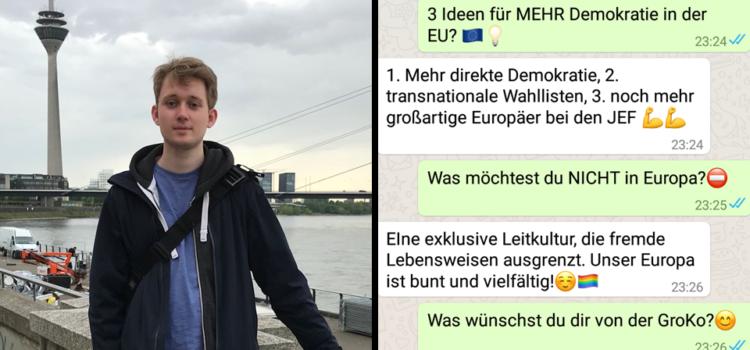 Interview mit Jan Einhoff!