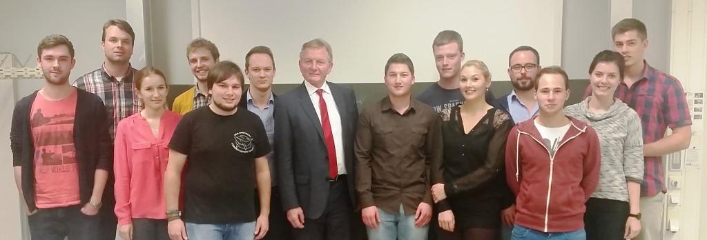 Claus Schmiedel zu Gast bei der JEF Ludwigsburg