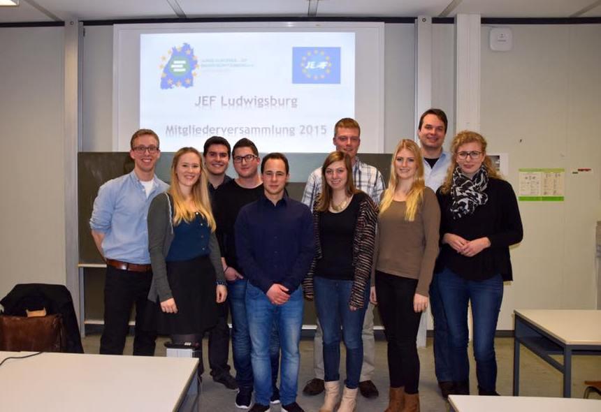 JEF Ludwigsburg Vorstand 2015/2016