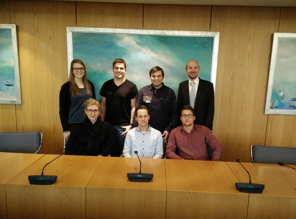 Besuch Landesausschuss für Europa