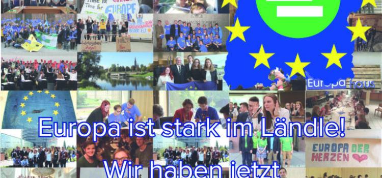 Die Jungen Europäer – JEF Baden-Württemberg knacken die 1000-Mitgliedermarke