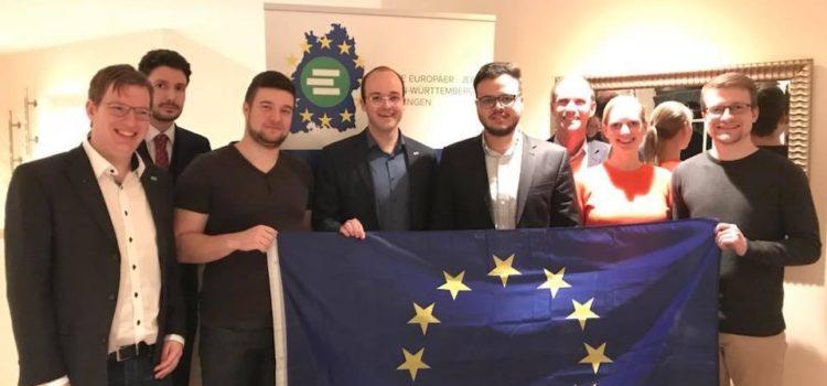 Wechsel an der Spitze der Jungen Europäer – JEF Reutlingen