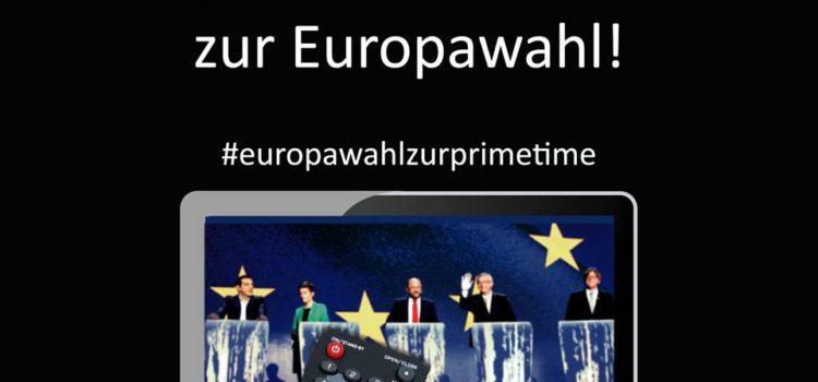 ARD und ZDF: Zeigt uns das TV-Duell zur Europawahl!
