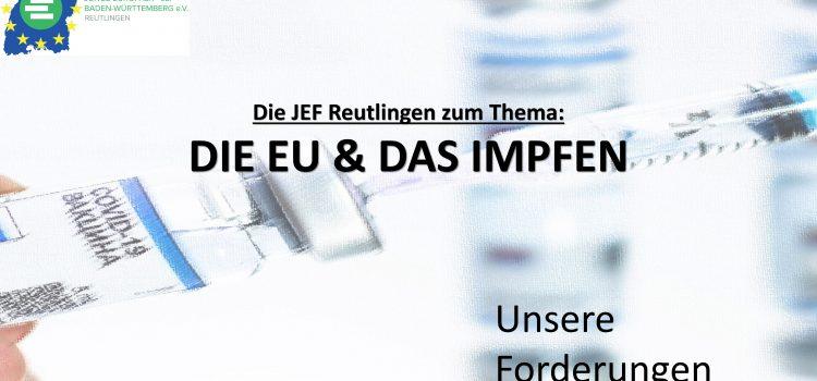 EU und Impfen, JEFRt