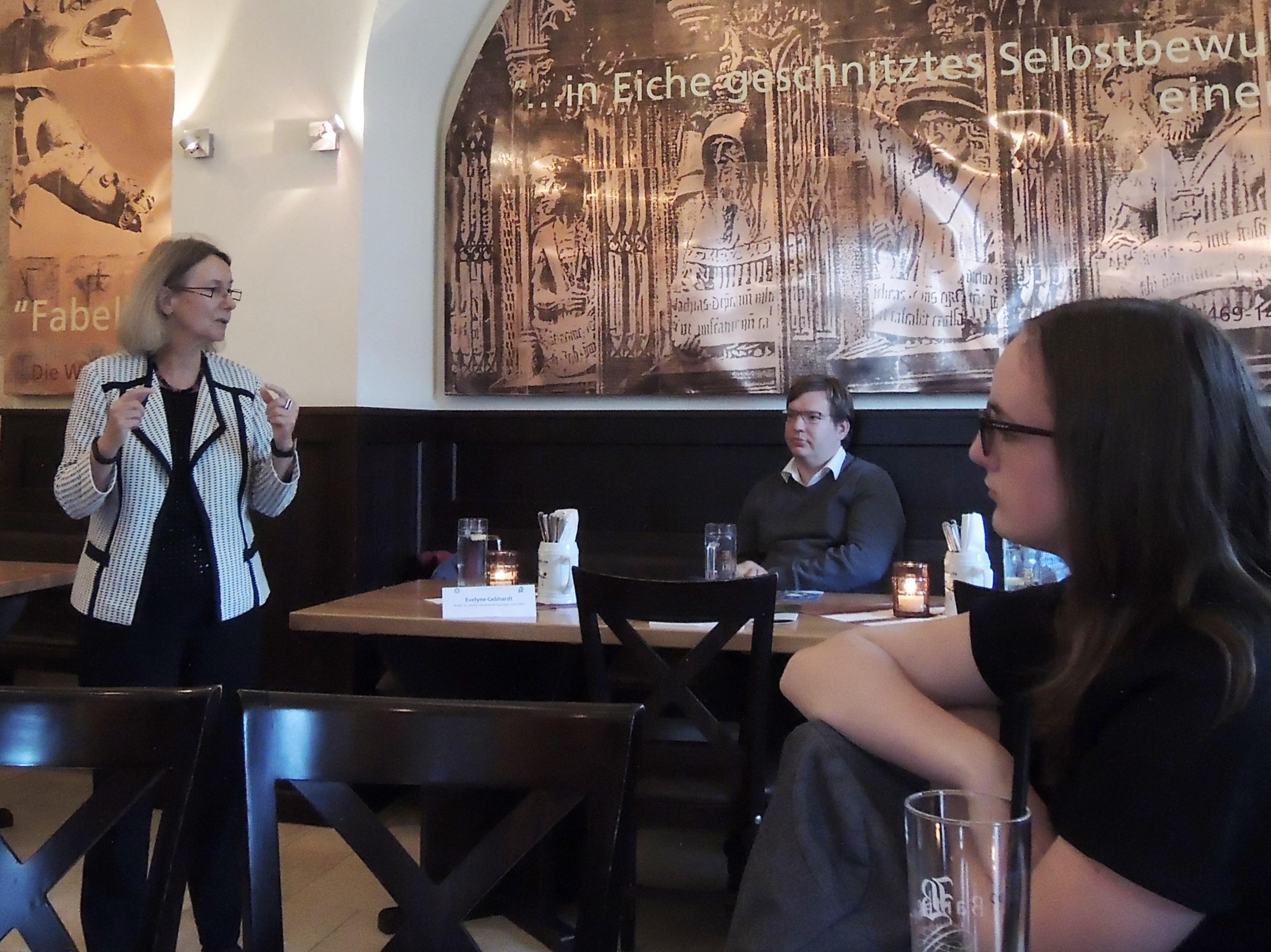 Diskussion mit Evelyne Gebhardt MdEP: Europa und die Flüchtlingskrise