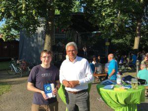 Infostand Donaufest Ulm