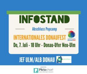 JEF Infostand Donaufest