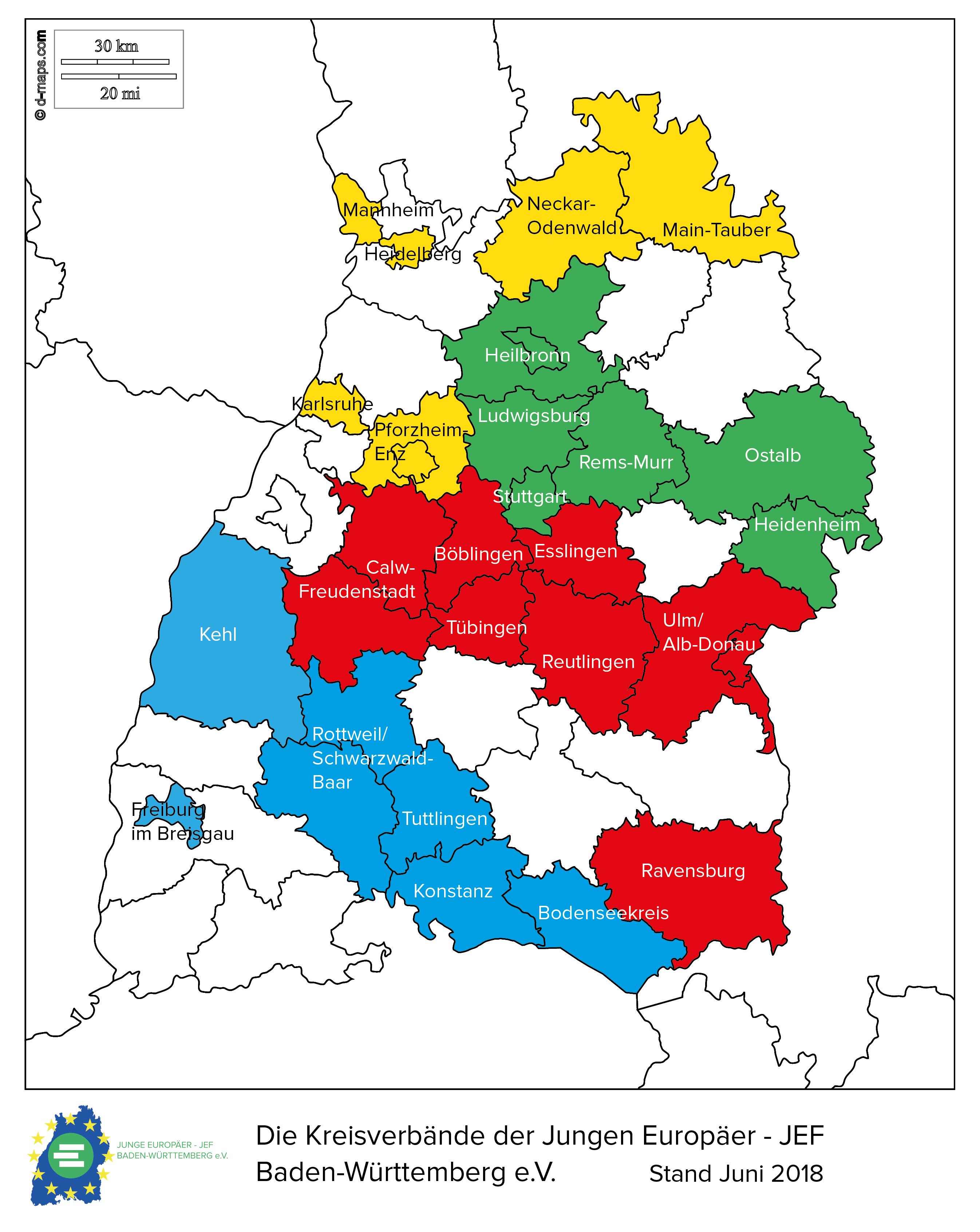 Karte württemberg in städte baden Karte Vollbild